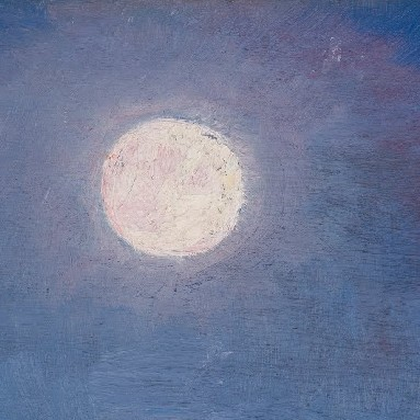 Full moon - Peder Severin Krøyer