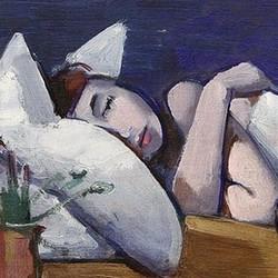 Schlafendes Mädchen - Franz Lerch