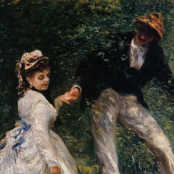 La promenade - Pierre August Renoir