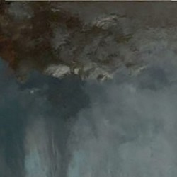 La trombe - Gustave Courbet
