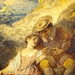 Le Dénicheur de moineaux - Jean-Antoine Watteau