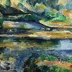 Le roisseau - Paul Cézanne