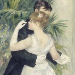 Danse á la ville - Pierre Auguste Renoir