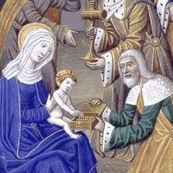 Heures de Charles VIII | Rois mages - Maître de Jacques de Besançon