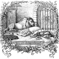 Die Löwenbraut - Ehrhardt, Adolf (Deutsches Balladenbuch (1852)
