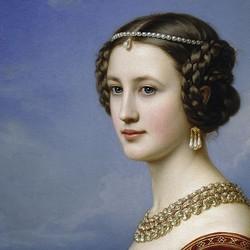 Portrait of Cornelia Wetterlein - Joseph Stieler