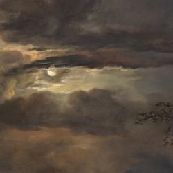 Moonlit Landscape with Bridge - Aert van der Neer  (1604–1677)