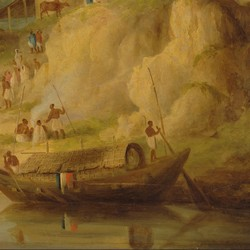 The Banks of the Ganges - William Daniell
