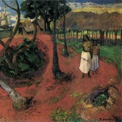 Idyll in Tahiti - Paul Gauguin