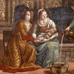 Birth of St Mary - Domenico Ghirlandaio