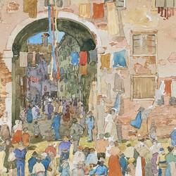 Riva degli Schiavoni, Castello - Maurice Prendergast
