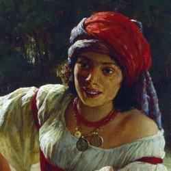 Gypsy Woman - Nikolai Yaroshenko