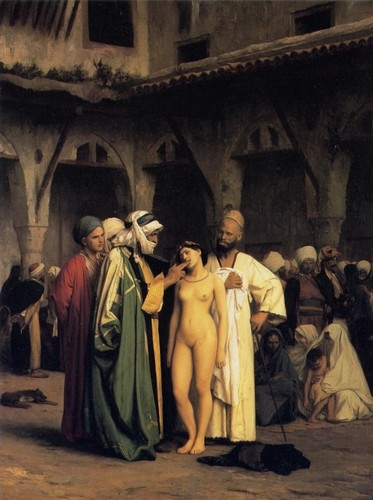 The Slave Market - Jean Leon Gerome